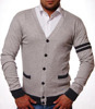 CARDIGAN PULOWER SZARY 1335 UNIVERSITY STYLE