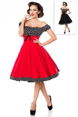 SUKIENKA PIN UP RETRO STYL HIT 50024
