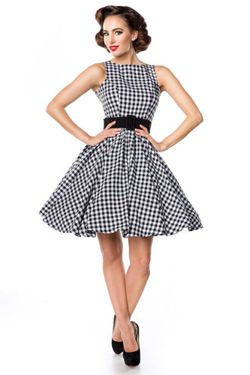 SUKIENKA PIN UP RETRO STYL HIT 50049