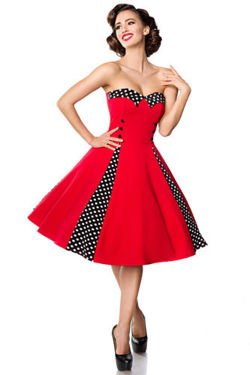 SUKIENKA PIN UP RETRO STYL HIT 50062
