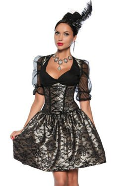 SUKIENKA PIN UP RETRO STYL 12598