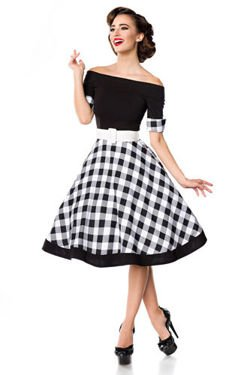 SUKIENKA PIN UP RETRO STYL HIT 50048